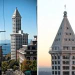 Viviendo en la pirámide más alta de Seattle