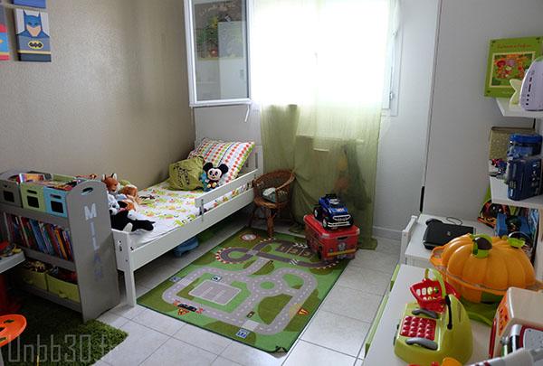 Bureau chambre garcon ikea chambre enfant garon stuva for Lit kura occasion