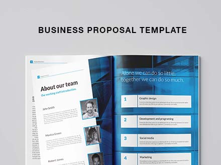 Free Business Proposal Template (Indesign)