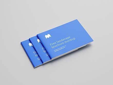 Best Free Brochure Mockups in Photoshop PSD