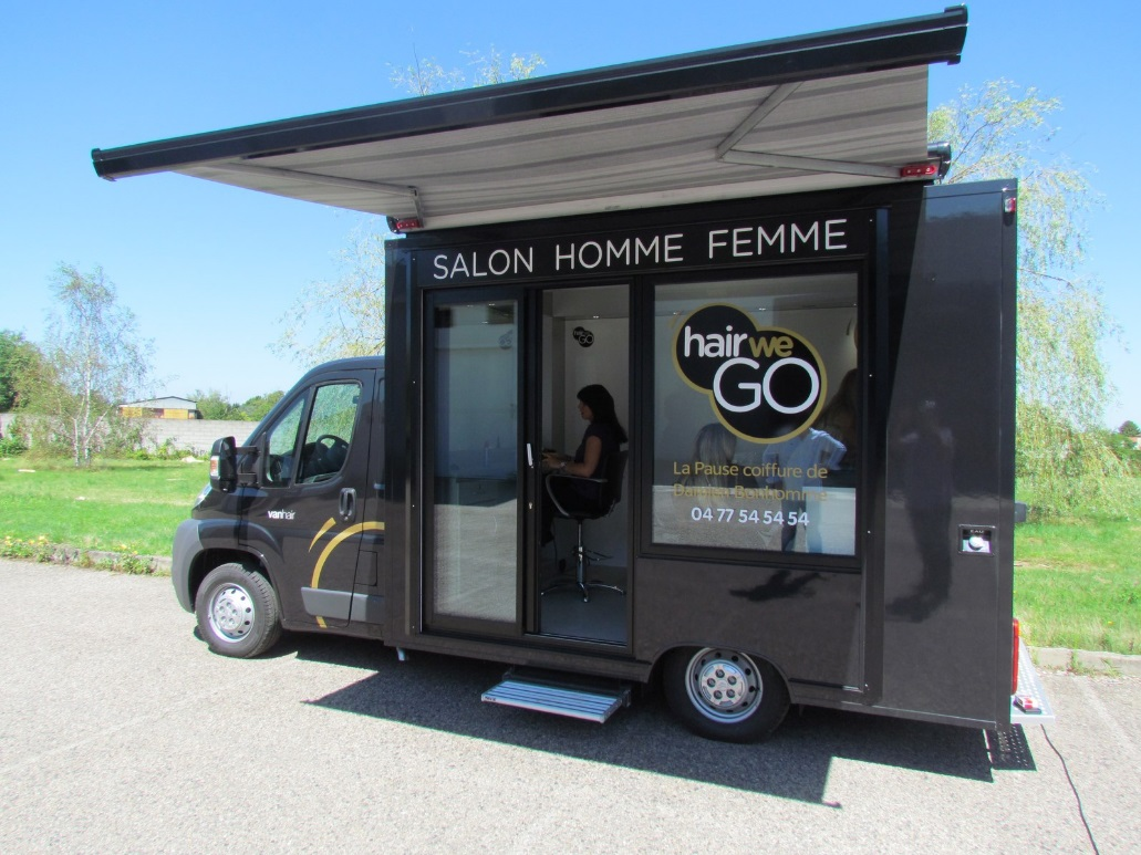 Salon De Coiffure à Domicile Le Concept Hair We Go Un Salon De Coiffure Mobile