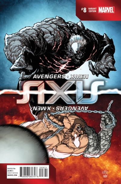 Spot Led Avengers & X-men: Axis #8 | Uncannyxmen.net