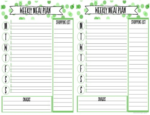 Simple Meal Planning For Beginners (With Free Printable)