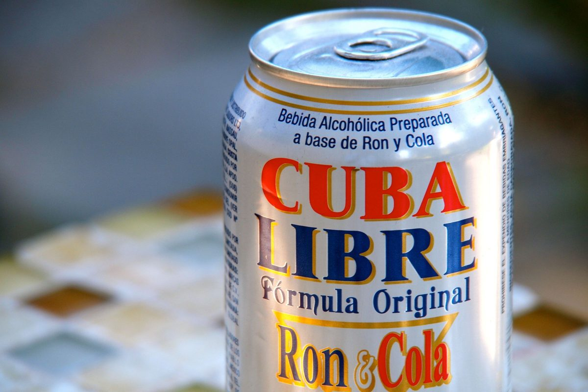 Cuba Libre Drink Friday Happy Hour Cuba Libre In A Can Umm Not The Best