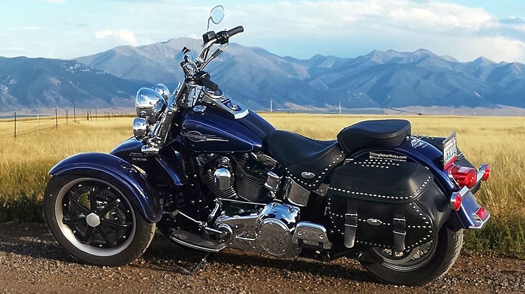 Your Tilting Motor Works Harley Davidson Heritage Softail Classic is Ready
