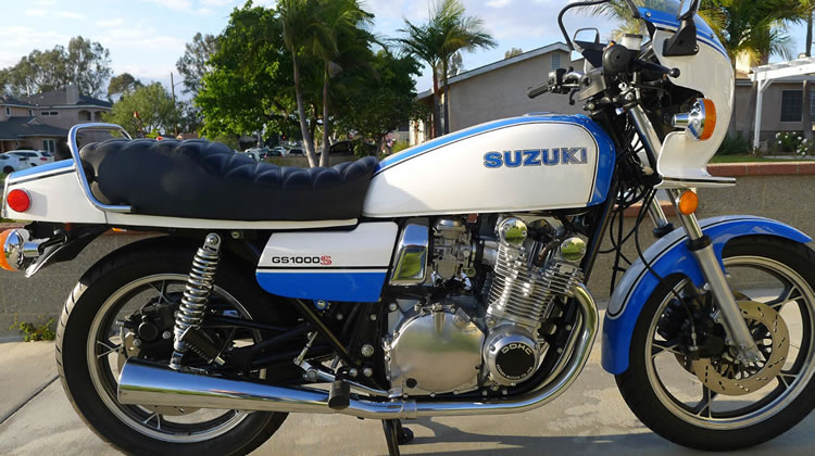 Fully Restored 1980 Suzuki GS1000S Wes Cooley Replica