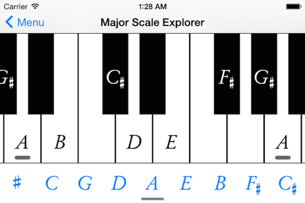 MajorScaleExplorer
