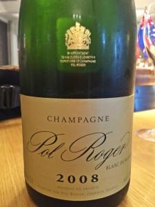 Magnificant 2008 vintage chardonnay-Pol Roger