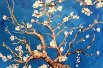 Van Gogh's Blooming Almond