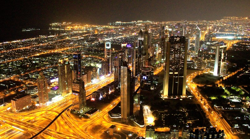 At The Top of the Burj Khalifa in Dubai – the World's Tallest Building