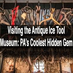 Visiting the Antique Ice Tool Museum