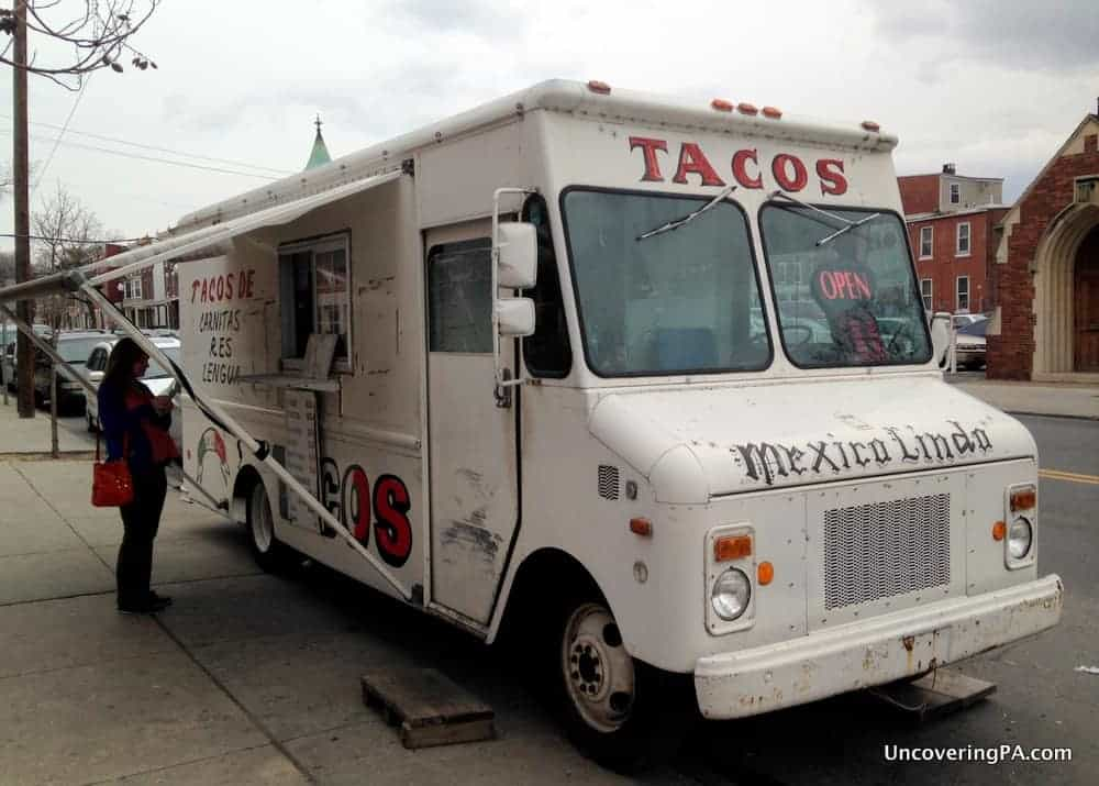 The fabulous Mexico Lindo Taco Truck, the most authentic Mexican food ...