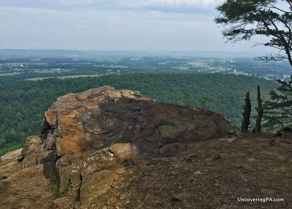 Hawk Rock Overlook in Duncannon PA