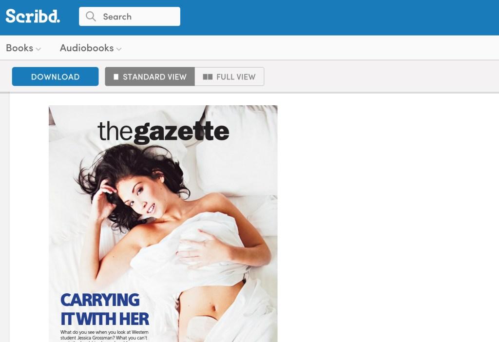 Uncover Ostomy Western Gazette Scribd 04-07-2011