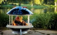 Want: Weber outdoor fireplace
