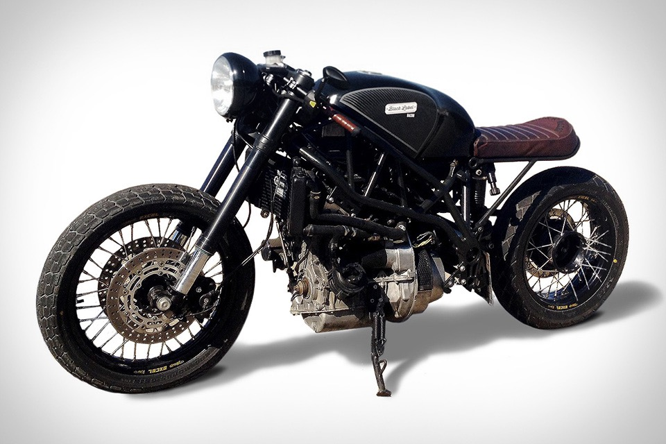 Cafe Racer Wallpaper Iphone Hormel Black Label Bacon Fueled Motorcycle Uncrate