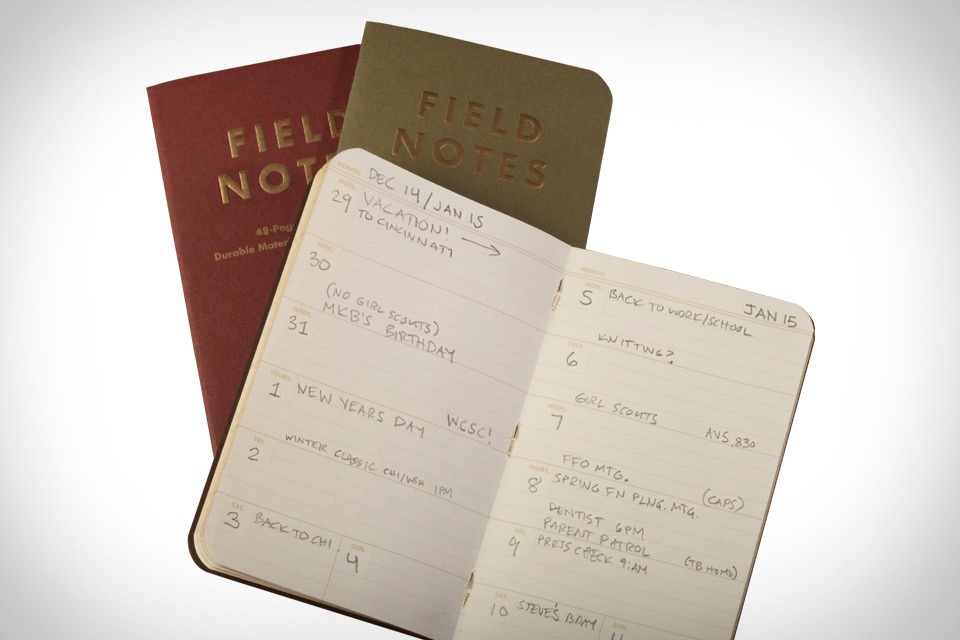 Field Note Amazoncom Field Notes Kraft Ruled 3 Pack Office Products