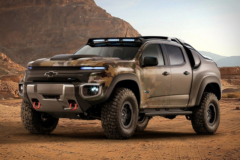 Image result for Chevrolet Colorado ZH2