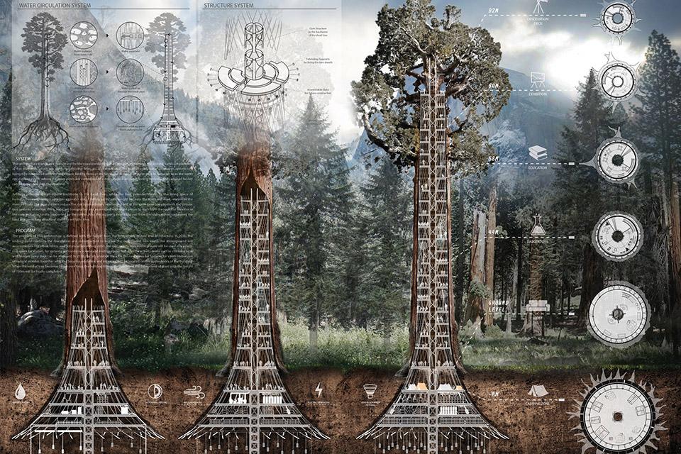 Human Fall Flat Wallpaper Giant Sequoia Skyscraper Concept Uncrate