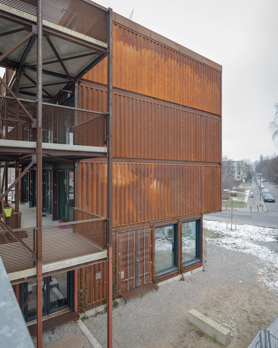 Container Haus Villa A Container Village For Students In Berlin Uncube