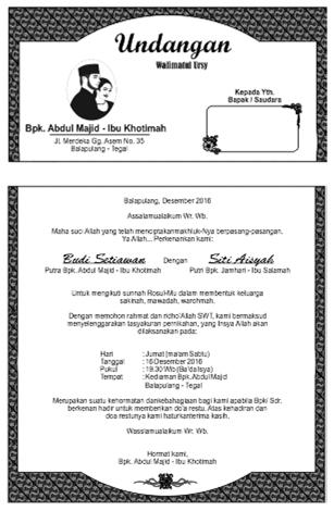 Undangan walimatul ursy syafiu0027i - new modern periodic table elements arranged according