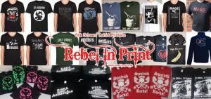 Rebel In Print - Undercover Festival Official Merch Supplier