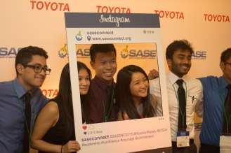 Some of the group at the SASE National Conference!