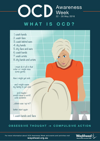 A4 Poster - OCD Bathroom