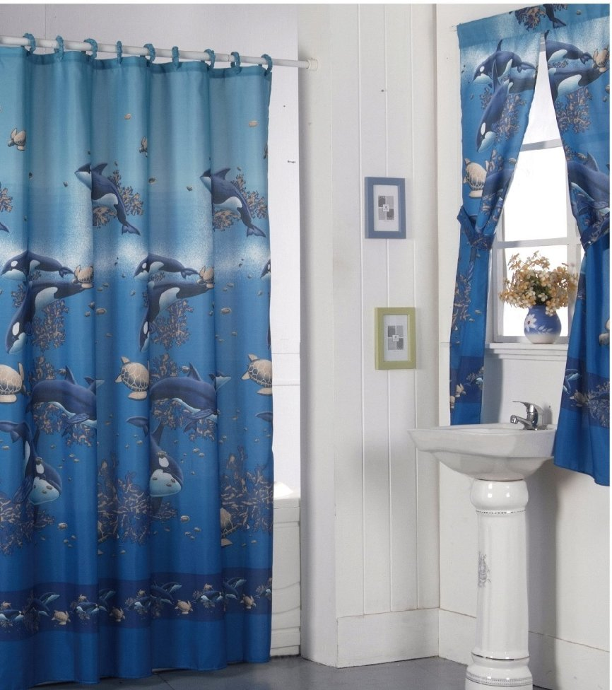 Shower And Window Curtain Sets Bathroom Window Curtain Sets A Creative Mom