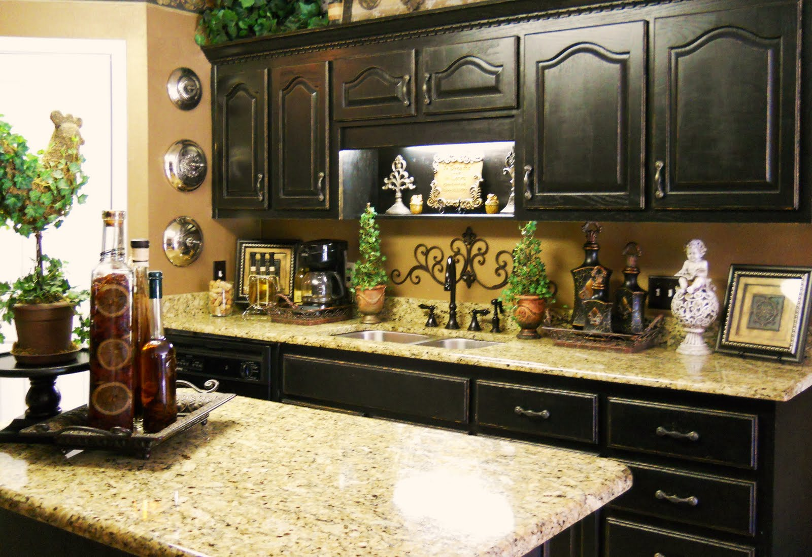 Kitchen Decor Tasteful Ideas For Wine Kitchen Décor A Creative Mom