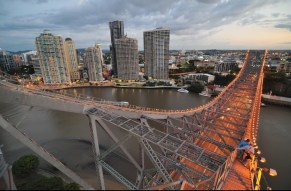AERIAL VIEW STORY BRIDGE CLIMB