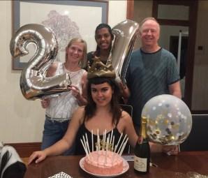family cake 21st