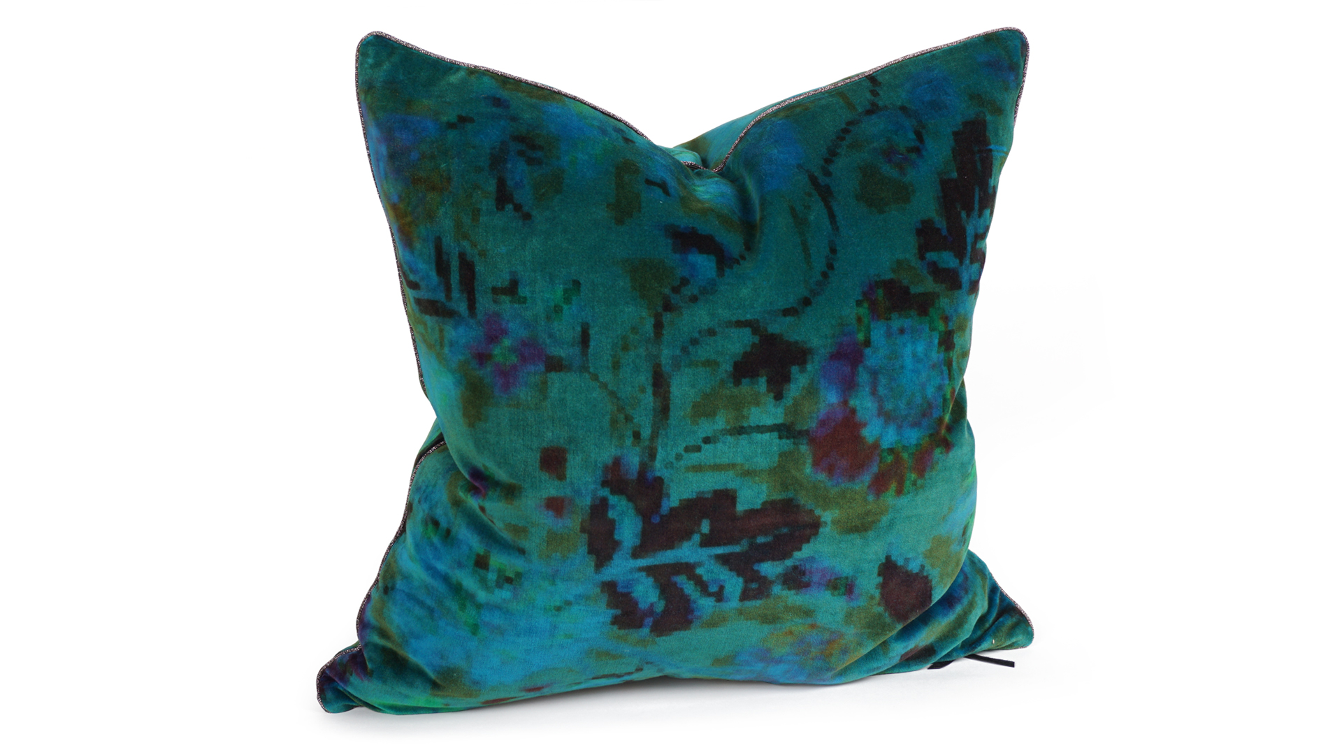 Blue Velvet Cushion Midnight Blue Velvet Cushion Un Fauteuil Pour Deux