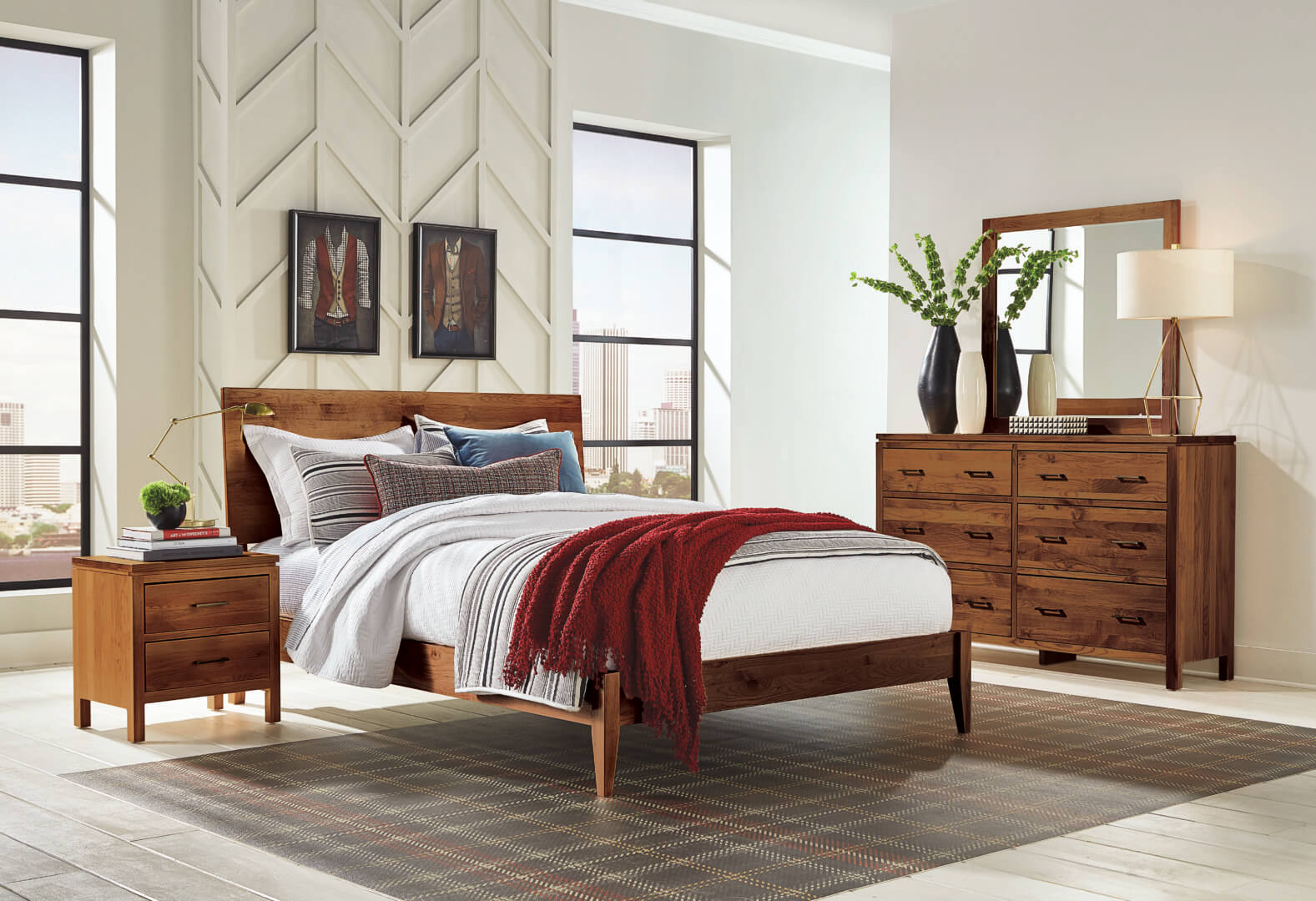 Https Www Unfinishedfurnitureofwilmington Com Product Alder Queen 2 West Platform Bed