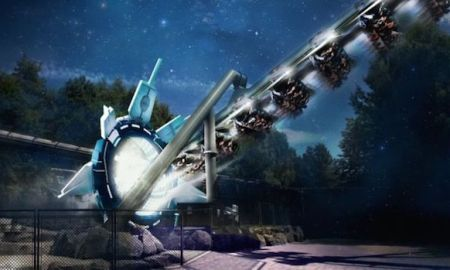World's First Virtual Reality Roller Coaster, Alton Towers (Galactica)