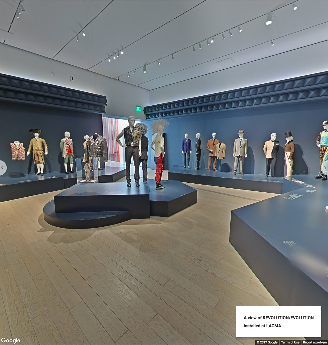 Installation Culture Indoor Three Hundred Years Of Mens Fashion At Your Fingertips