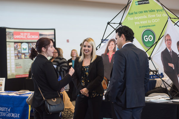 Spring career fairs can lead students to internships and full-time jobs