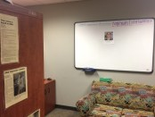 The Student Government Association's Gainesville campus office is a good place to be alone.