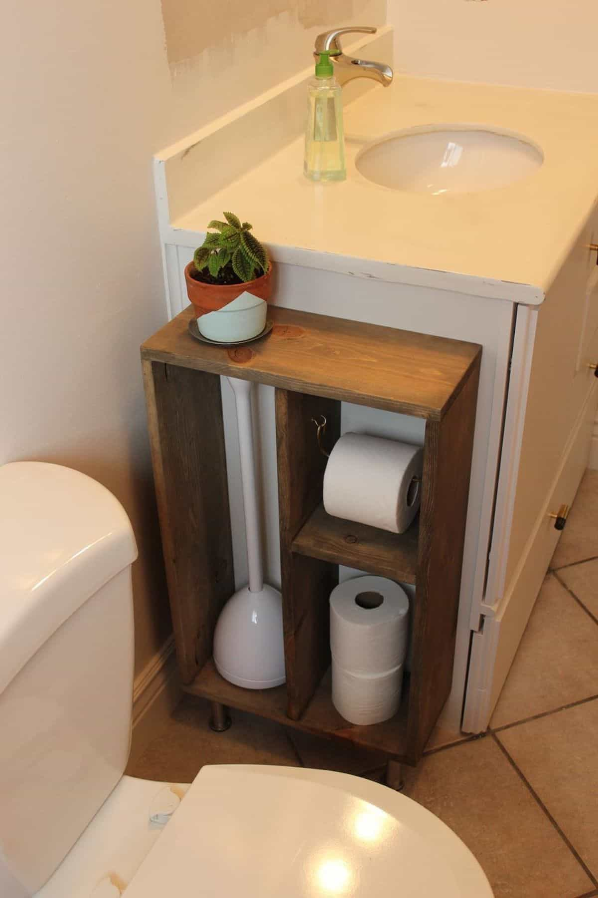 Covered Toilet Paper Storage 20 Creative Diy Toilet Paper Holder Ideas