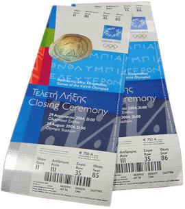 Closing ceremonies tickets