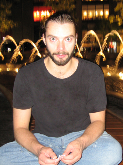 John in Columbus Circle