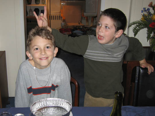 Tom and Allison's kids