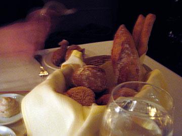 Bread at Del Posto