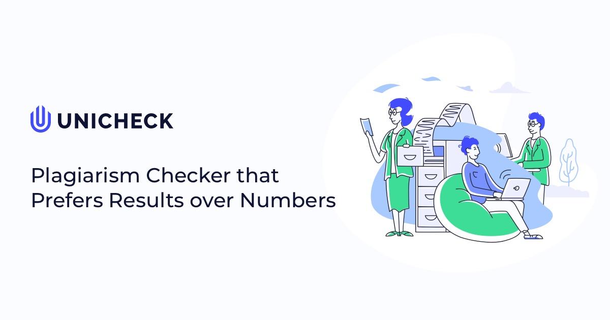 Plagiarism Checker and Originality Detector Unicheck