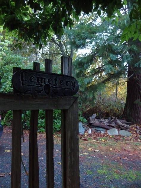 Halloween Gate, Lummi Island, WA. Photo by Scarlett Messenger