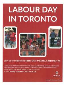 Toronto Labour Day Parade Info Pkg - 2017 3