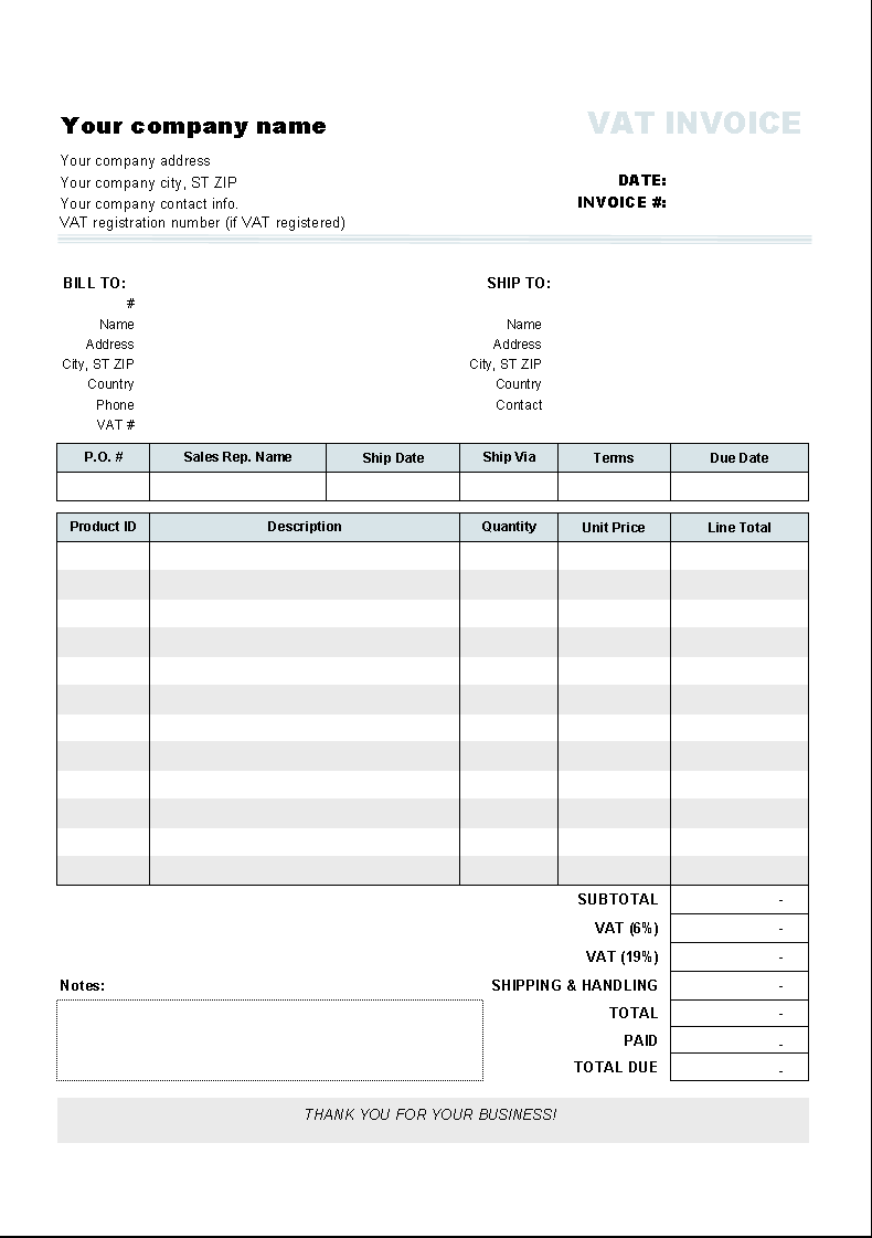 sample invoice no vat | sample customer service resume, Simple invoice