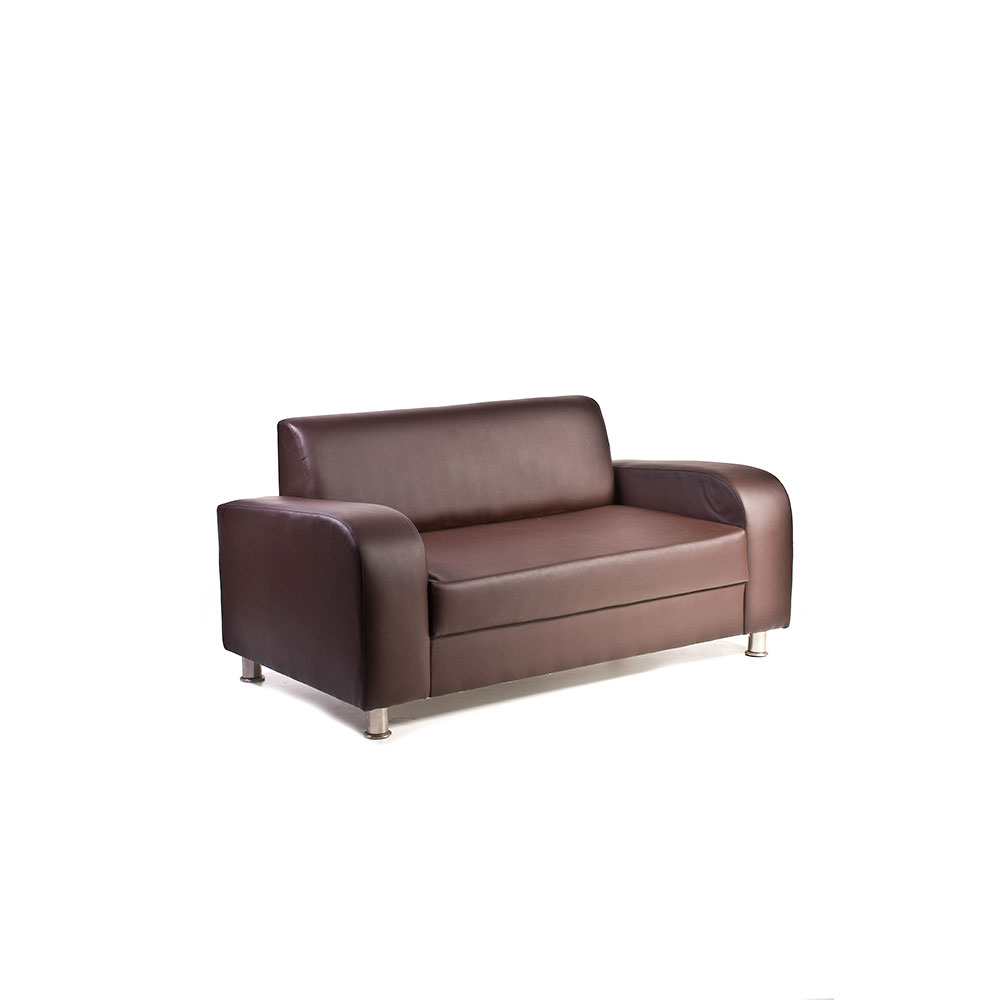Sofa Unik Chicago Double Brown Unik Furniture Hire Durban Kwazulu Natal