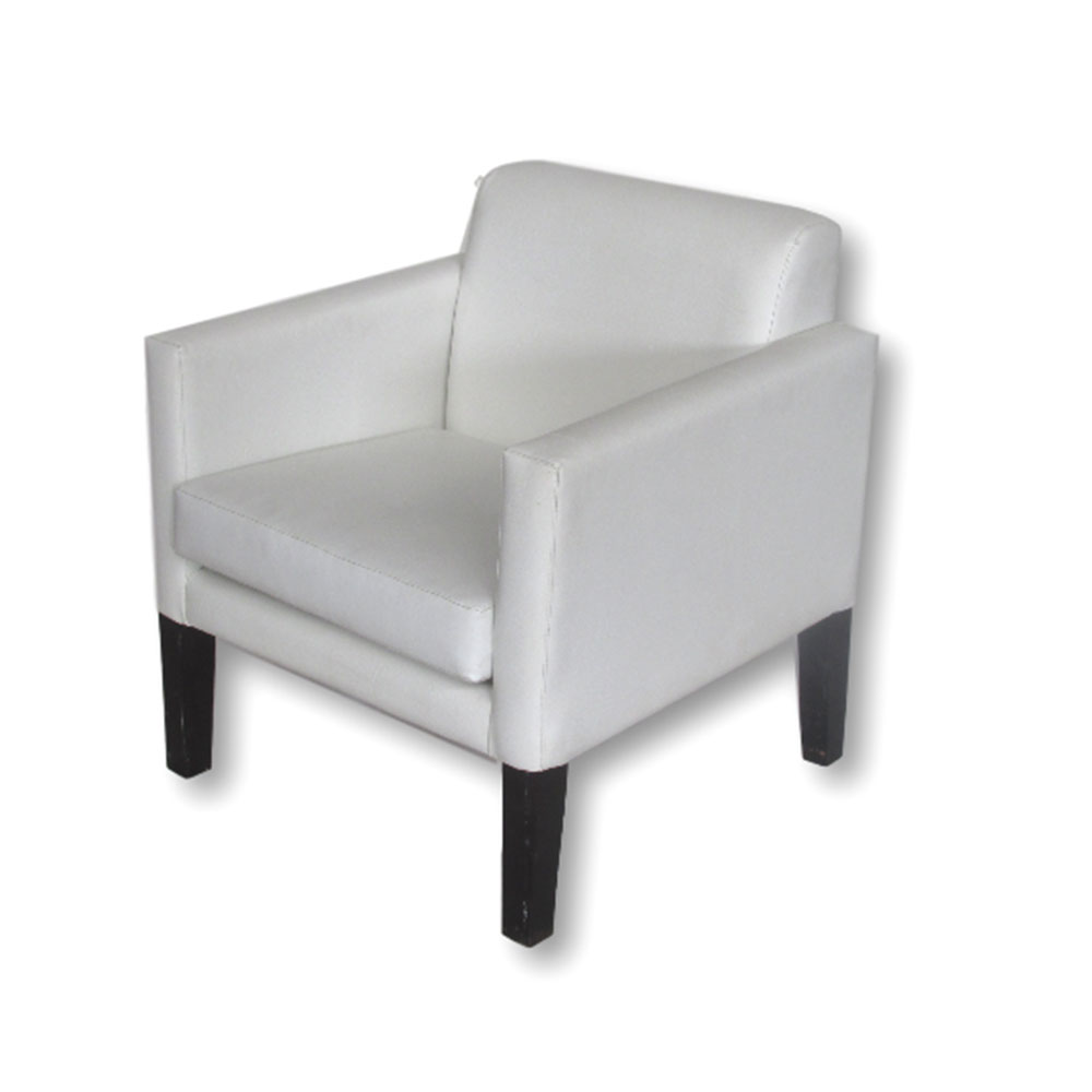 Sofa Unik Kylie Chair White Unik Furniture Hire Durban Kwazulu Natal