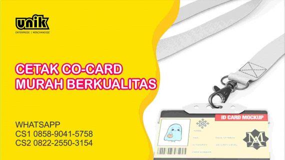Cetak Co Card Harga Murah di Jogja